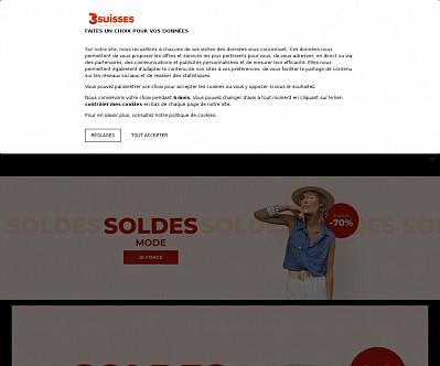commenti e valutazioni di 3Suisses.fr