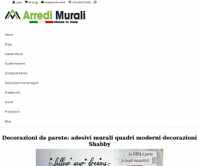 commenti e valutazioni di Arredimurali.it