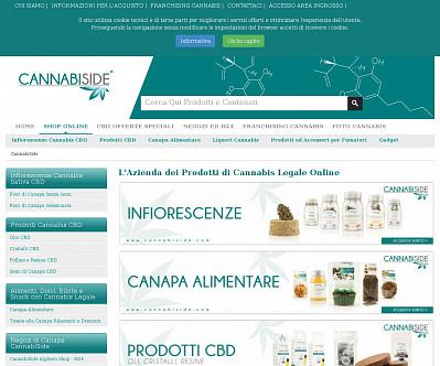 commenti e valutazioni di Cannabiside.com