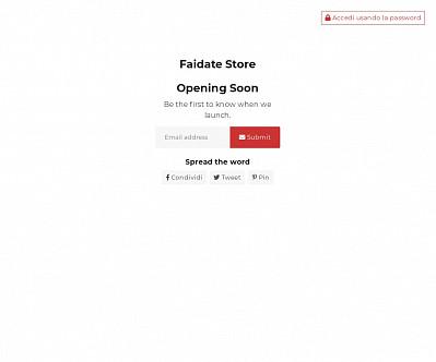 commenti e valutazioni di Faidate-store.com
