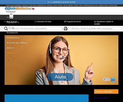 commenti e valutazioni di Offertecartucce.com